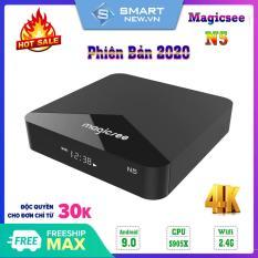 [Có video] Android Tivi Box Magicsee N5 – Ram 2GB Rom 16GB Single Wifi – Có Bản Rom ATV – Bảo hành 12 tháng
