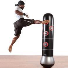 Bao trụ đấm bốc tự cân bằng cao 1m6 – Dụng cụ thể thao trong nhà – Đồ luyện tập thể thao