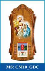 Lịch Gỗ Treo Tường Công Giáo Gia Đình Chúa – TẶNG BLOC ĐẠI 2020