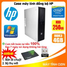 Case máy tính đồng bộ HP CPU Dual core E5xxx / i5-2400 / RAM 4GB / HDD 250GB-500GB / SSD 120GB-240GB [QUÀ TẶNG: Bộ thu wifi, bàn di chuột]