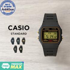 Đồng hồ nam dây nhựa Casio Standard chính hãng Anh Khuê F-91 & F-94 Series