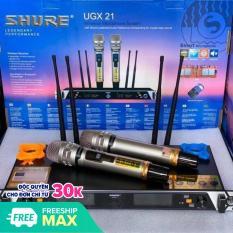 Micro không dây Shure UGX 21 loại 1 – Tự ngắt sau 3 giây