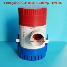 Máy bơm nước 12V công suất cao 4100 lít/giờ
