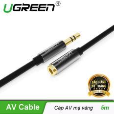 Dây AV nối dài 3.5mm mạ vàng dài 5m UGREEN AV118 10538