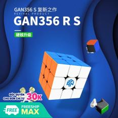 Đồ Chơi Rubik Gan 356RS ( New 2020) Cao Cấp – Rubik Dùng thi đấu Quốc Tế ( Quay nhanh, mượt, bẻ góc cực tốt) – Tặng Dầu Bôi Trơn + Chân Đế Rubik