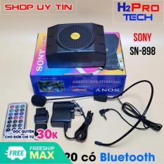 Máy trợ giảng Sony SN-898 USB-FM-MP3 model 2020 có bluetooth, loa trợ giảng cho giáo viên
