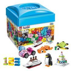 Bộ xếp khối sáng tạo mô hình 460 chi tiết – Hộp nhựa mã Enli2901 KamiToy