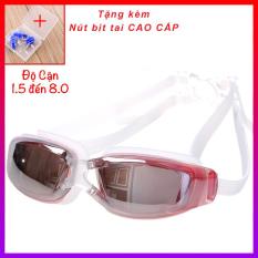 Kính bơi CAO CẤP Tráng gương Chống tia UV (Tặng 2 nút bịt tai CAO CẤP) fc- NHShop