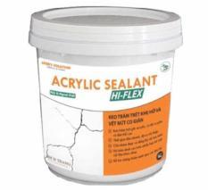 Keo Hi-Flex Sealant xử lý vết nứt bề mặt tường sàn
