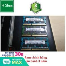 [Nhập ELJAN11 giảm 10%, tối đa 200k, đơn từ 99k]Ram Laptop DDR3 4Gb bus 1600 – 12800s bảo hành 3 năm