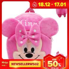 Balo vải bông Mickey hồng cho bé yêu, sản phẩm tốt với chất lượng và độ bền cao, cam kết giống như hình