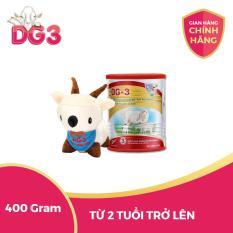 Sữa dê công thức DG-3 GOAT MILK GROW-UP FORMULA tặng kèm dê bông