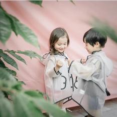 Áo mưa trong suốt cho trẻ em