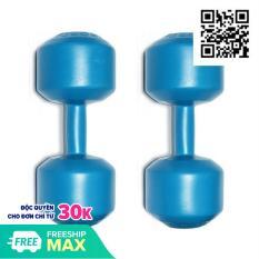 Bộ 2 Tạ tay nhựa VN 5 Kg