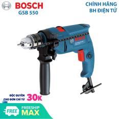 Máy khoan động lực Máy khoan gia đình Bosch GSB 550 công suất 550W mũi khoan tường tối đa 13mm – Dòng máy khoan bán chạy nhất năm 2019