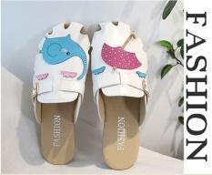 Giày slipper phong cách Hàn Quốc cho mùa hè 2019