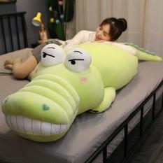 Gấu bông cá sấu xanh béo size 70cm