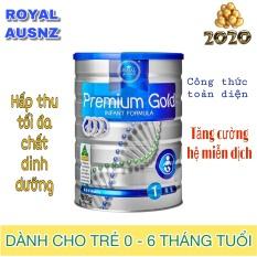 Sữa Hoàng Gia Úc Royal Ausnz Premium Gold 1 cho bé 0-6 tháng