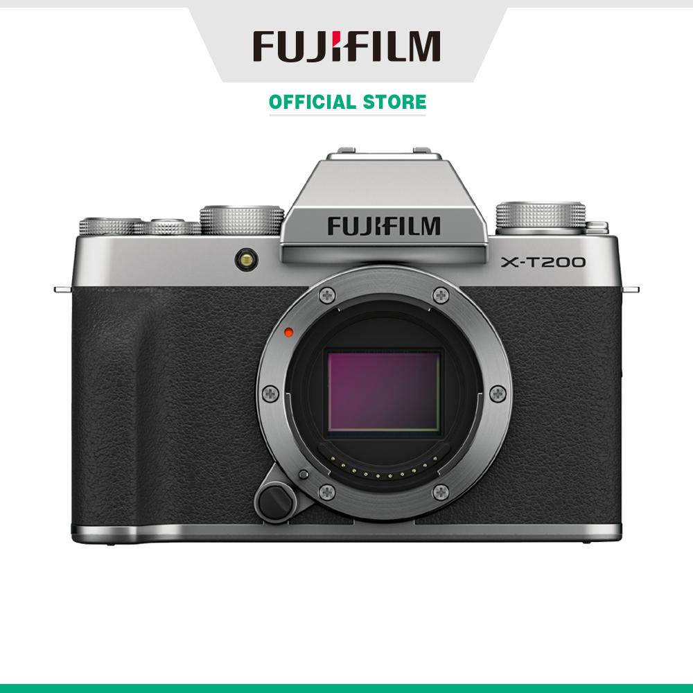 Máy ảnh kỹ thuật số Fujifilm X-T200 Bạc