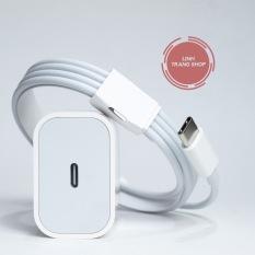 (Bảo Hành 12 Tháng)Bộ Củ Cáp Sạc Nhanh PD 18W USB-C To Lightning Phù Hợp Với Máy 8/8P/X/XS/11/11Pro/12