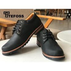 Tefoss Giày Boot Nam Da Cao Cấp