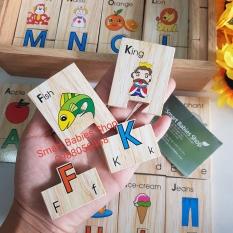Đồ chơi gỗ Winwintoys – Bộ tìm chữ cái tiếng Anh