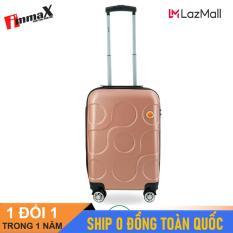 [ MIỄN PHÍ SHIP] Vali nhựa du lịch size xách tay 20inch immaX X12/ Vali kéo du lịch size nhỏ
