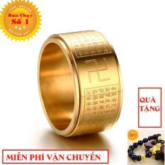 Nhẫn xoay BÁT NHÃ TÂM KINH khắc chữ VẠN không đen xoay 360 độ mang nhiều ý nghĩa đặc biệt dành cho phái mạnh – Phong Thủy Titan