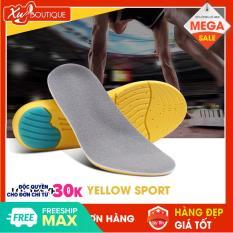 Lót Giày Thể Thao ,Lót Giầy Yellow Sport Êm Chân ( Kích thước size M 35-40 ; size L 41-45 Tự cắt size)