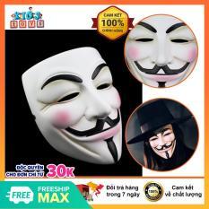 Mặt nạ hacker, mặt nạ hóa trang lễ hội cho bé, chất liệu nhựa ABS cao cấp an toàn cho bé