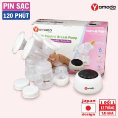 Máy hút sữa điện đôi Yamada Nhật Bản – Công nghệ Bionic+, pin sạc 120 phút, thay đổi tần số kép, BH 1 đổi 1 tại nhà 12 tháng