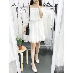 ĐẦM TRỄ VAI TRẮNG YANDY DRESS