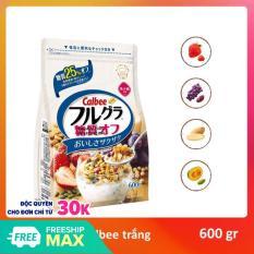 Ngũ cốc Trắng Calbee Nhật bản 600 g