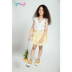 Chân Váy Ba Tầng Bé Gái Họa Tiết Nhẹ Nhàng, Chất Liệu Mềm Mại- Jookyli Kids
