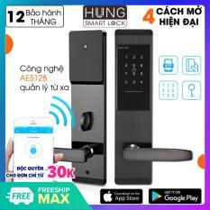 Khóa cửa điện tử thông minh khóa chống trộm dùng APP- Khóa thẻ từ, Khóa mã số Khóa cơ- Kết nối Bluetooth – Bảo hành 12 tháng – Hỗ trợ lắp đặt và cài đặt – Mở bên phải – Smart Lock Google Smart Lock Smart Door Lock Smart Applock Màu đen