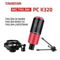 [Nhập EXCLUSIVEW501 giảm 10% tối đa 300k] Mic thu âm Takstar PC-K320 hát karaoke thu âm livestream bảo hành 12 tháng