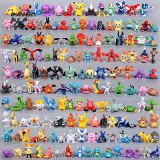 Bộ 144 Mô Hình Pokemon Mini Huyền Thoại