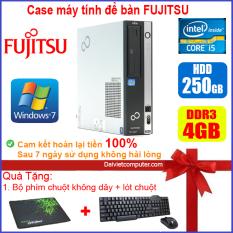 Case máy tính để bàn Fujitsu / HP CPU Dual Core E5xxx / Core i5-2310 / Ram 4GB / HDD 250GB-500GB / SSD 120GB-240GB [QUÀ TẶNG: Bộ chuột phím không dây + lót chuột]