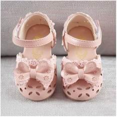 Dép sandal cho bé gái đế răng cư chống trượt êm mềm quai dán gắn nơ Cao Cấp HÀNG CHÍNH HÃNG – dép sandal cho bé gái Dép tập đi cho bé gái Dép sandal trẻ em nữ