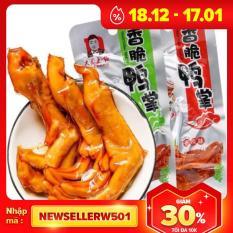 Combo 30 Chân Vịt Da Cheng – Màu Xanh ( không cay)