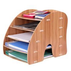 Gía để sách bằng gỗ nhiều tầng