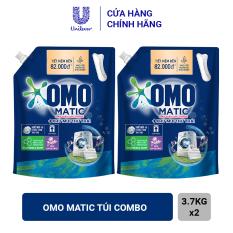 Combo 2 Túi Nước Giặt OMO Matic Khử Mùi Thư Thái (3.7kg)