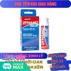 Chai xịt DYNAMO DELAY cao cấp (22.2ml) – hàng chính hãng