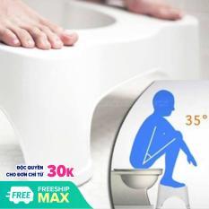 [MUA COMBO2 FEE SHIP 1GHẾ] Ghế kê chân toilet giá rẻ chống táo bón -Ghế Kê Chân Toilet.