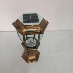 Đèn trụ cổng năng lượng mặt trời 1 Watt – L4D (ánh sáng trắng)