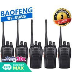 Bộ 05 Bộ đàm Baofeng BF-888S – BH:3 Tháng