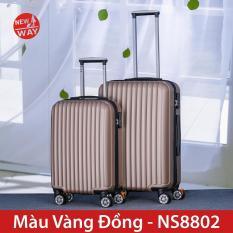 Vali NEWWAY NW8802 Vali du lịch Vali kéo vali nhựa abs+pc vali Size 20inch