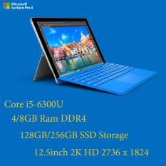 laptop 2 trong 1 kiêm máy tính bảng Surface Pro 4 Core i5-6300U/4gb Ram/128gb SSD/12.3inch 2K