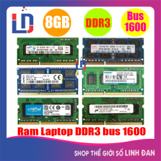 Ram laptop 8GB DDR3 bus 1600(nhiều hãng)samsung hynix kingston PC3 12800s – LTR3 8GB