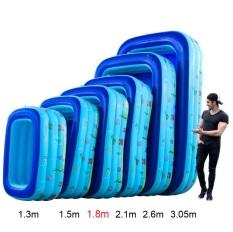 Bể bơi 3 tầng trẻ em hình chữ nhật 1.3m/ 1.5m/ 1.8m/ 2.1m/ 2.6m/ 3.05m